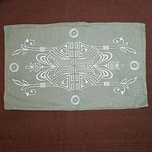 New- Raven & Lily Olive Rectangle Pillow Cover
